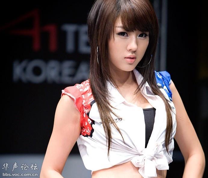 韩国顶级性感车模黄美姬 美女贴图