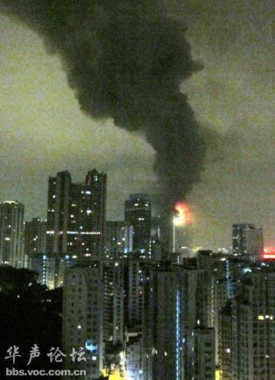 香港酒店发生大火 逾百名明星已逃生 一名韩籍影星两名导演失联!
