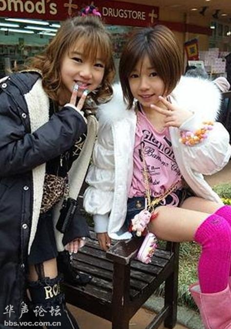 日本的小学女生为何如此早熟? - 娱乐八卦 - 华