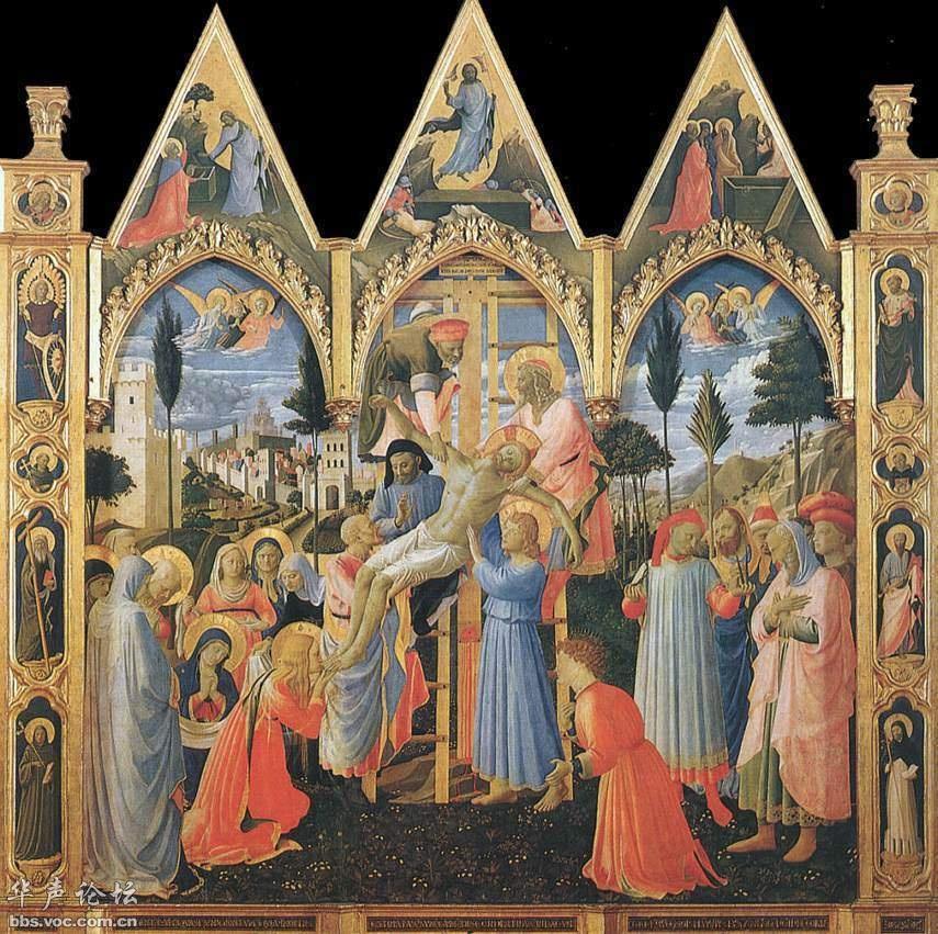 可博物馆,佛罗伦斯﹝Florence﹞,义大利-西方绘画大师 3弗拉 安杰