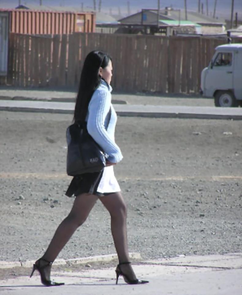 图文 * 网友蒙古国街拍美女风情纪游 * 分享