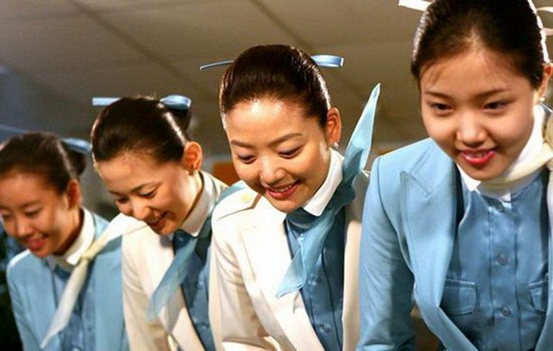 贴图 * 南朝鲜空姐最新素雅清新甜美范儿制服