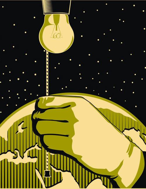地球 环保公益海报 设计欣赏