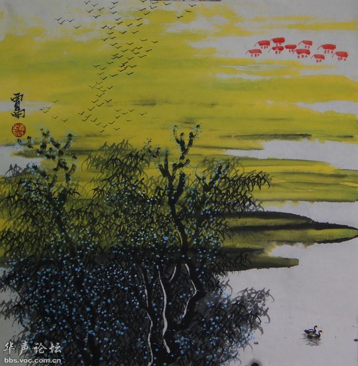 陈健·杭州报道构产生异彩,原生态绘画的理念获得了民族