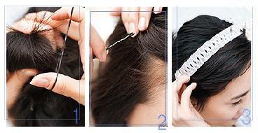 2012今年流行短发发型扎法 高清图片