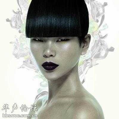 洋富帅眼里中国女星最美部位 赞吕燕丹凤眼超美图片