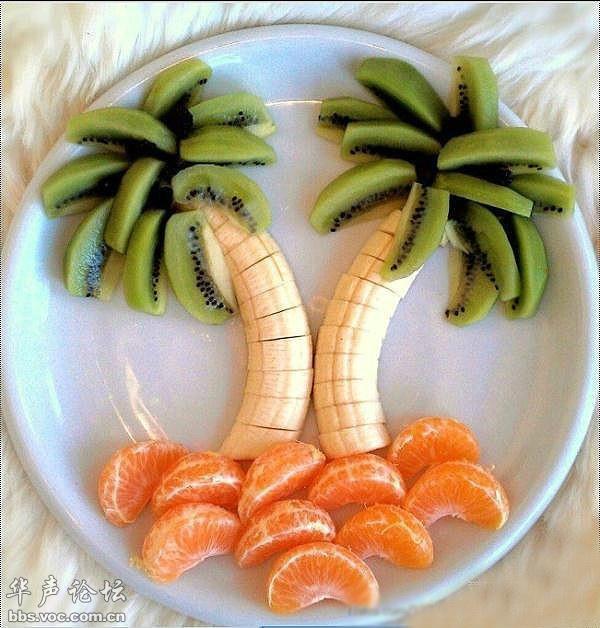 新年待客创意水果拼盘