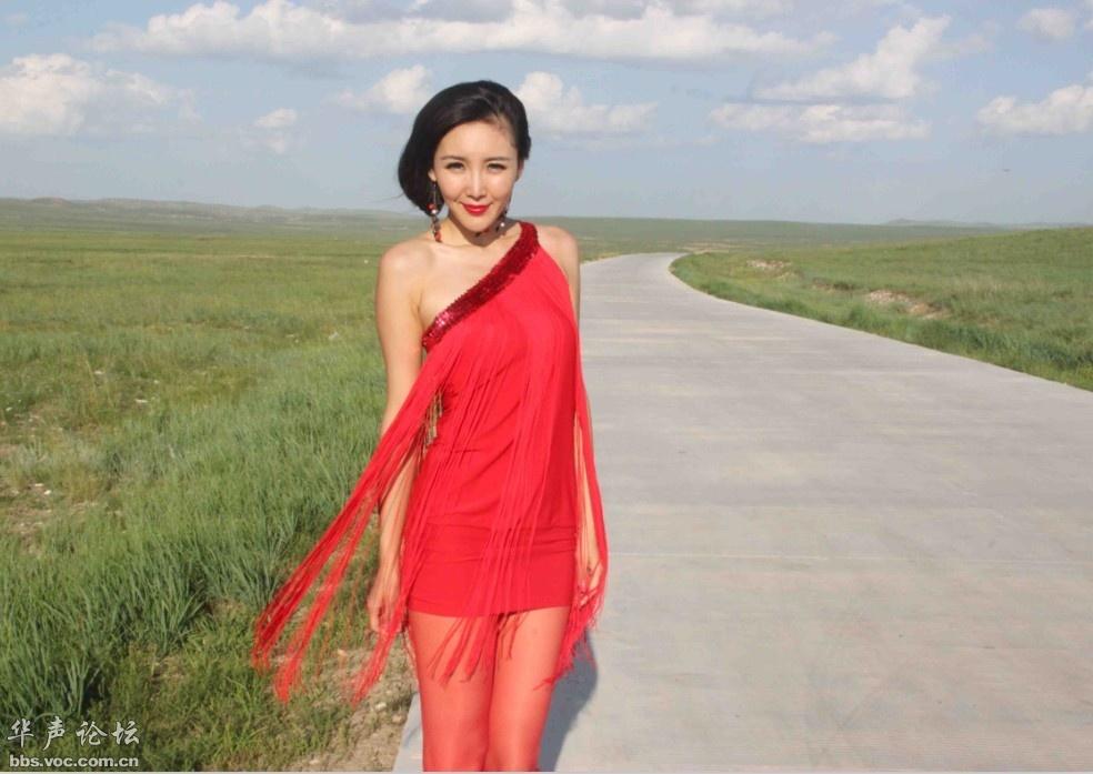 原创内蒙古美女《阿筎那》 美女贴图