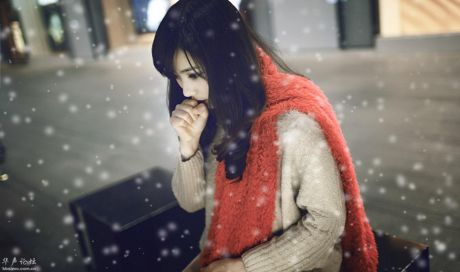 5200,天在下雪我在想你(原创) - 春风化雨 - 诗人-春风化雨的博客