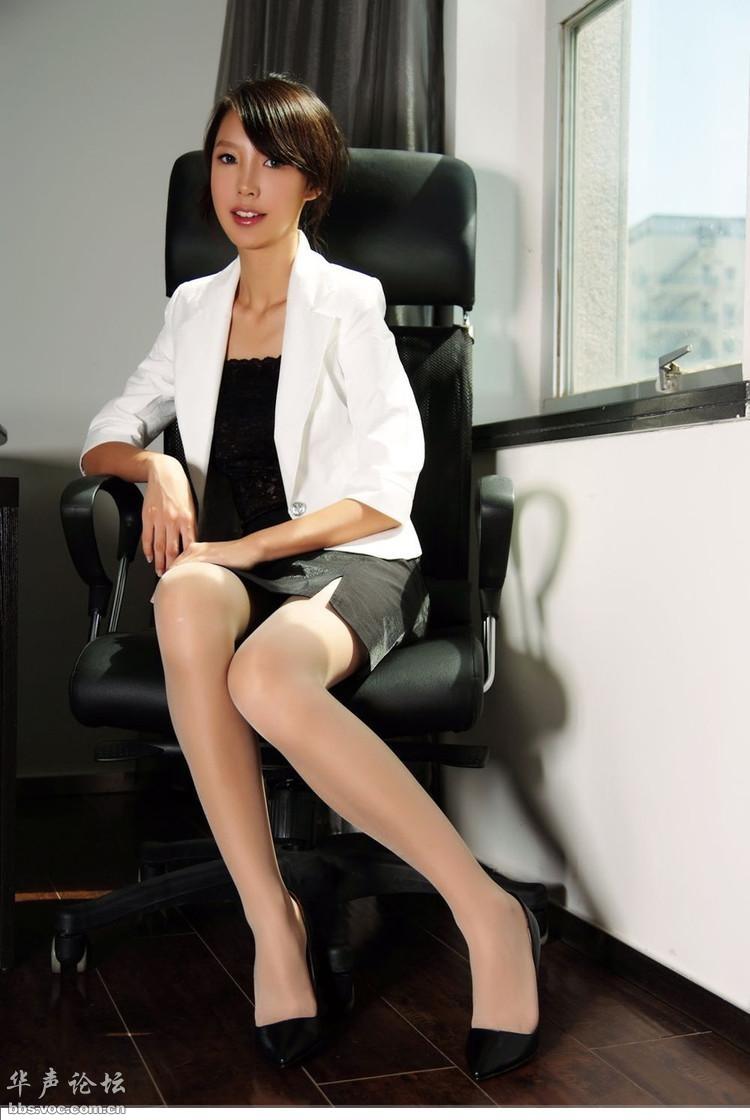 性感女秘书 - 美女贴图 - 华声论坛