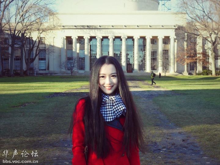 波士顿的中国富二代绝色美女