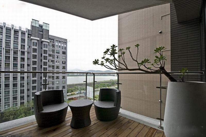 台湾高层住宅装修设计风格 高清图片