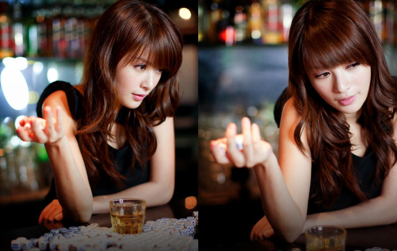 … 大美人林笑媚(12) 酒吧夜 …(第二页) - 美女贴