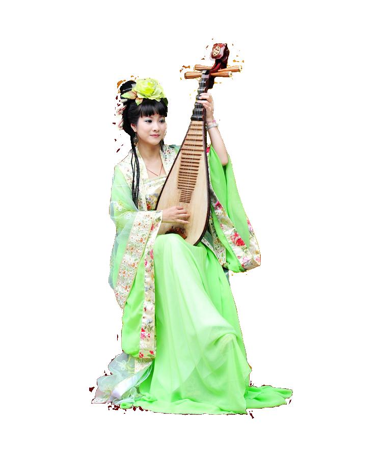 【蝶舞收集】免抠古韵PNG美女素材 图片素材