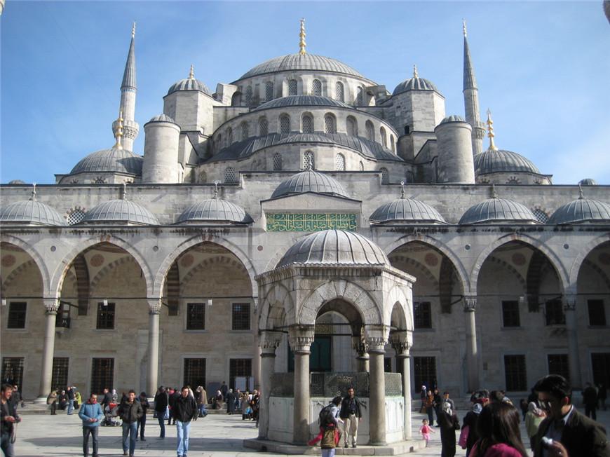 蓝色清真寺------土耳其.伊斯坦布尔