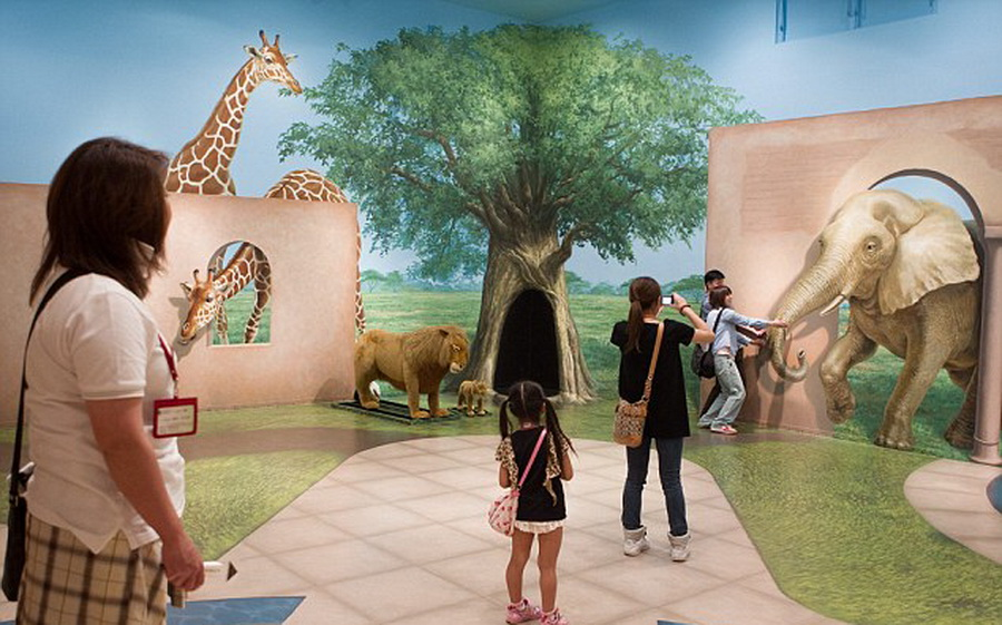 打造奇妙体验的日本幻觉艺术博物馆