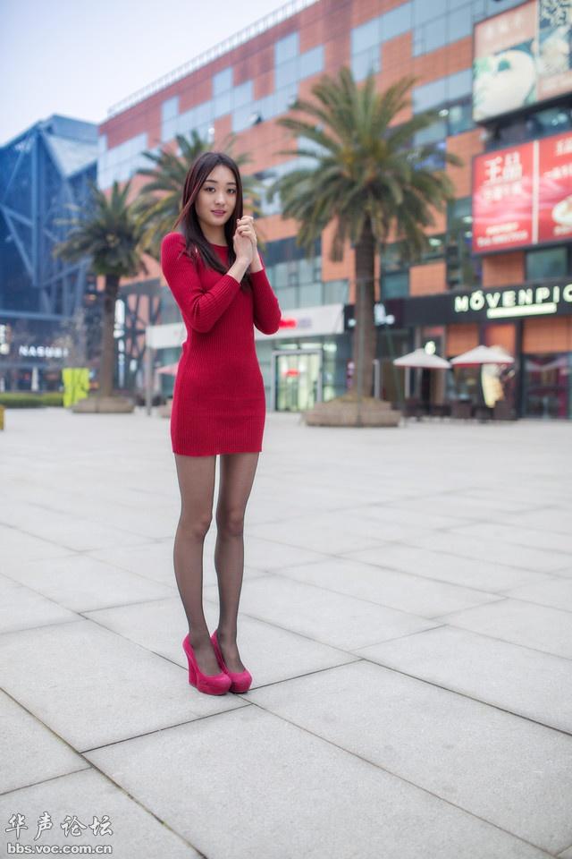 街拍宁波OL女郎 身材高挑熟女气质 美女贴图