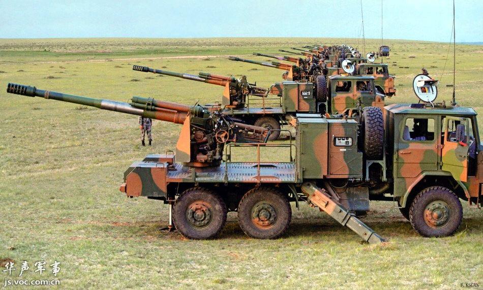 全面更新的中国陆军兵器