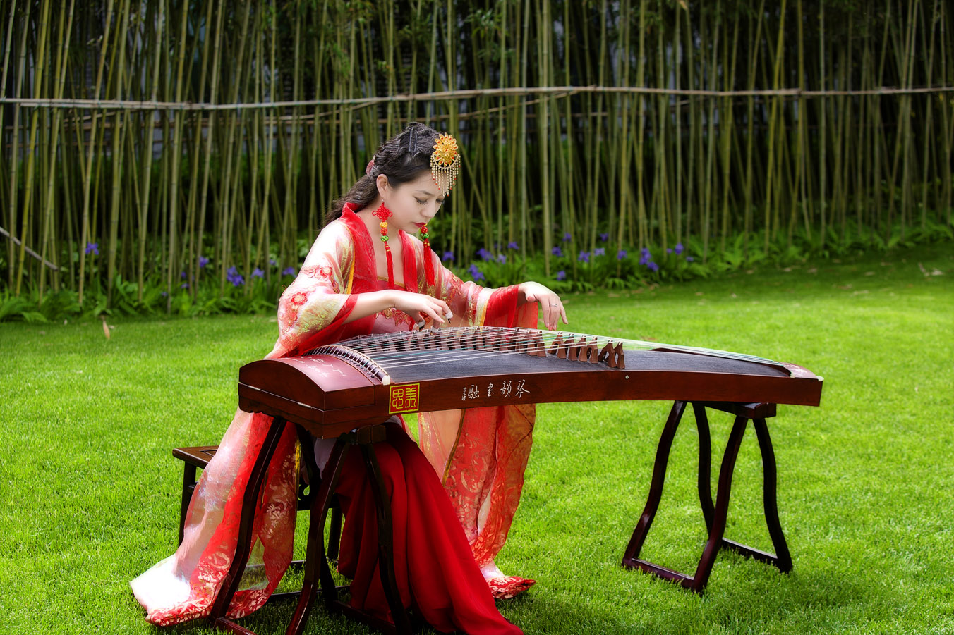 古琴散音简单曲谱