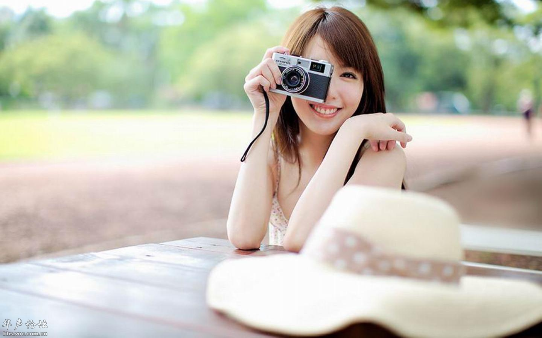清纯美女户外写真