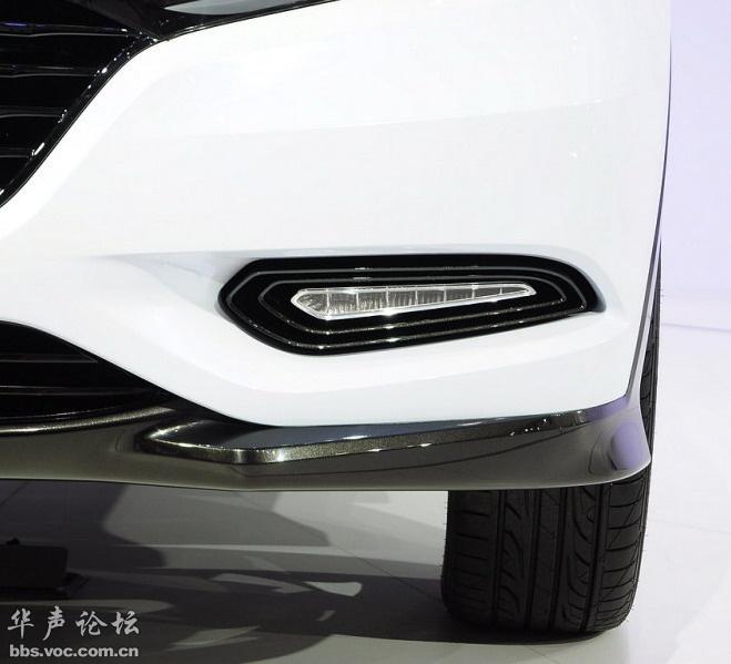 东风本田小型SUV曝光高清图片