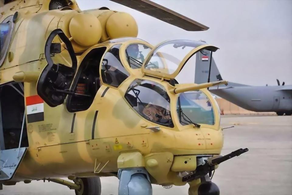 Helicópteros russos participam da operação em Mossul