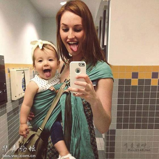 小小复制人:妈咪们和女儿的幸福瞬间 心都萌化