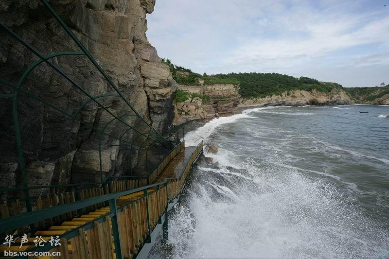 恐龙园奇石景观包括:恐龙探海、贝多芬头像、将军石等.-辽宁最美