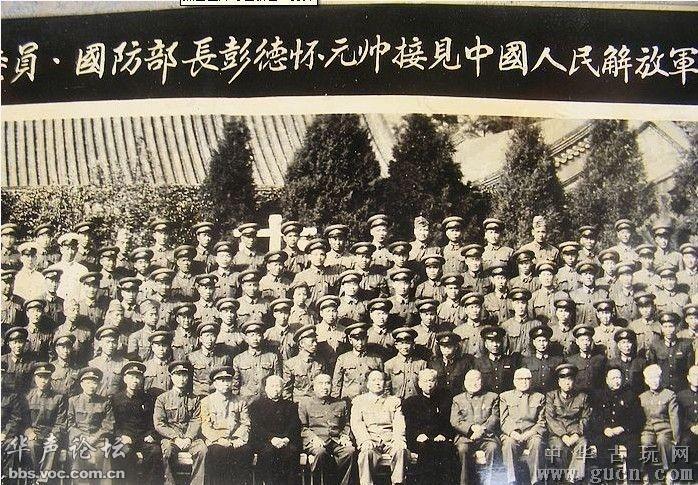 1958年领导人国庆观礼老照片图片
