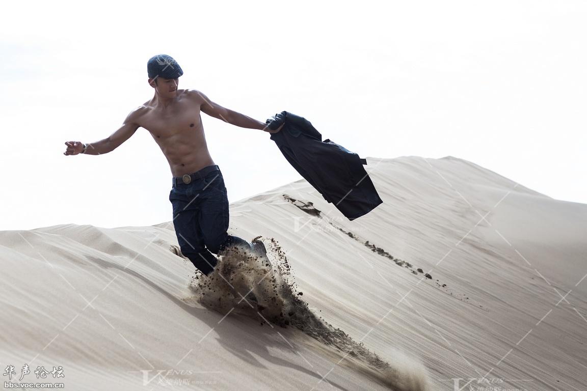 最美沙漠风图片