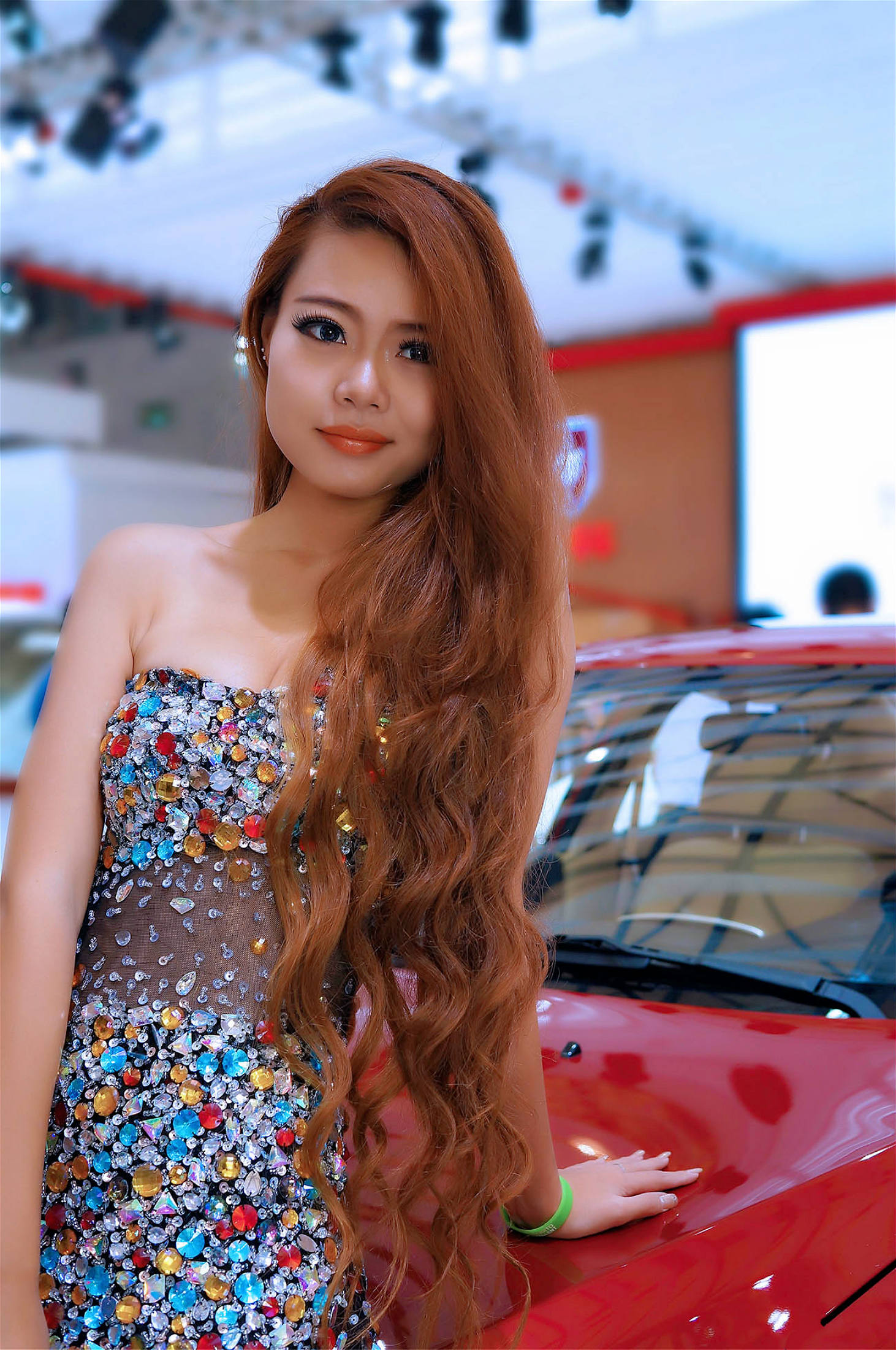 清新车模不仅仅是漂亮 - 青梅酒女 - 青梅酒女的博客