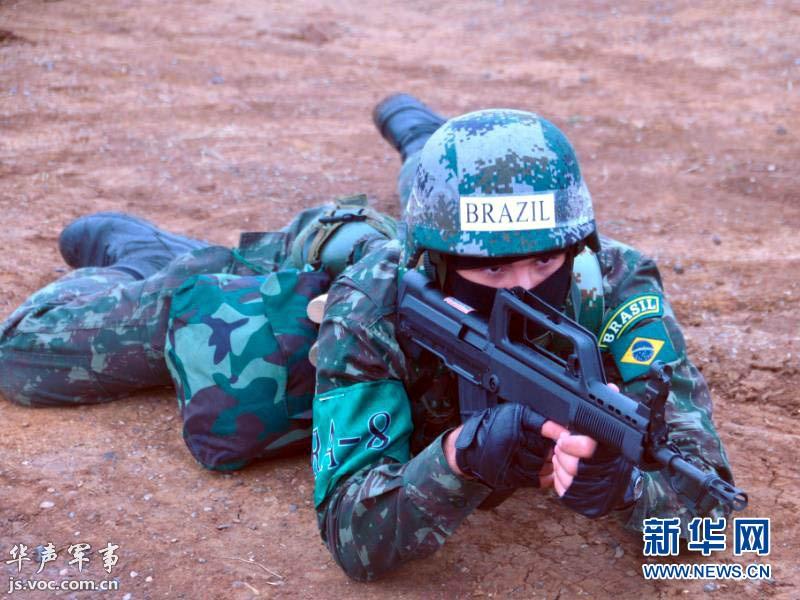 外军感受解放军单兵装备