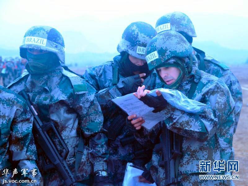 外军感受解放军单兵装备图片