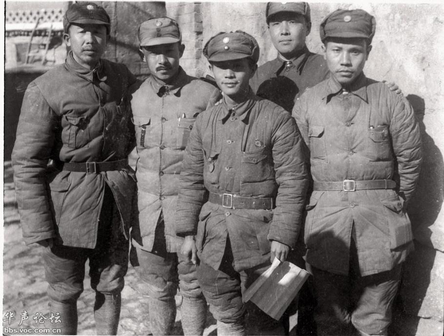 1939年,八路军将领,王平、關向應、舒同、趙爾陸