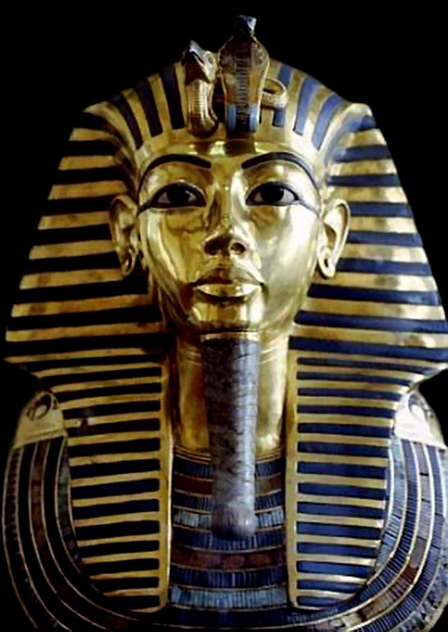埃及法老黄金面具胡子掉落 不当修复致永久损伤图片