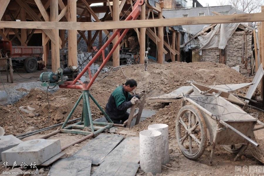 北京四合院私挖地下室成风 (17)