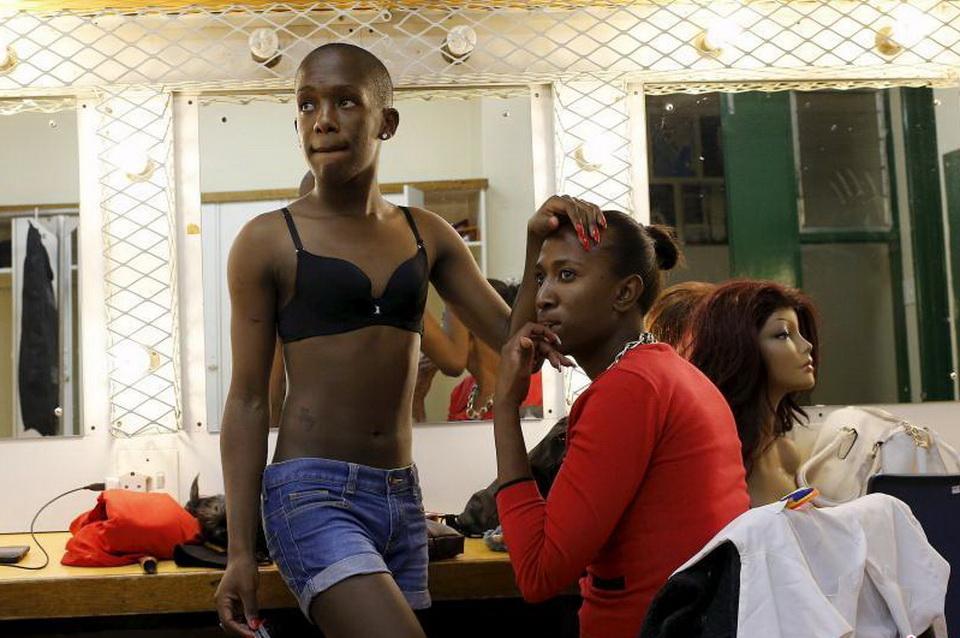 南非同性恋小姐选美比赛 台前幕后佳丽剪影图片