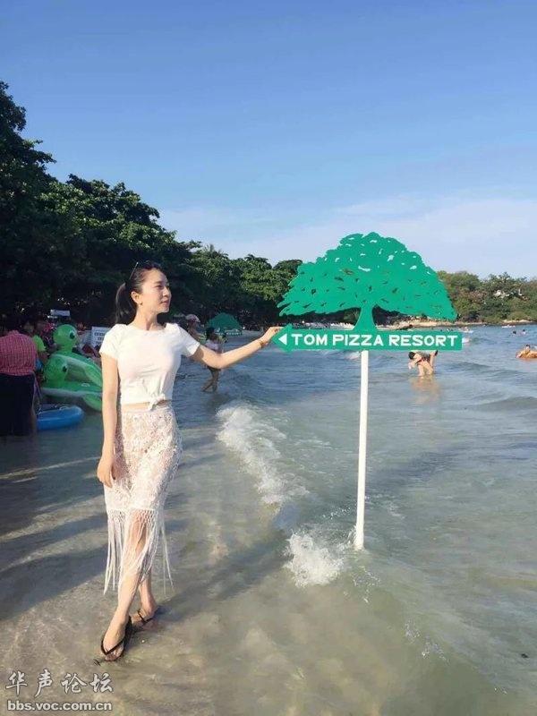 原创6大美女扎推游泰国