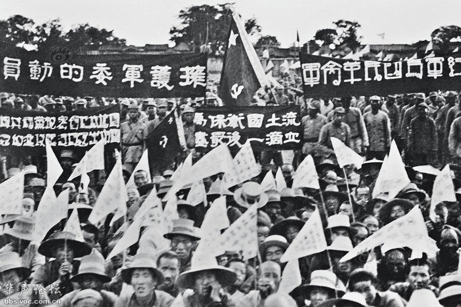 中共早期领导人和知名人士 记者拍摄的罕见抗战照片图片