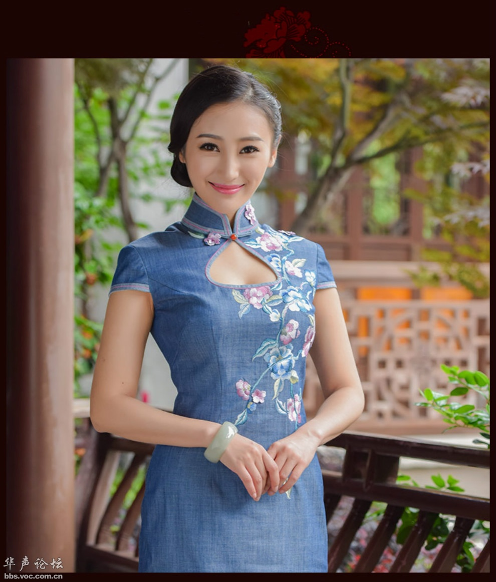 气质优雅旗袍佳丽 - 花開有聲 - 花開有聲