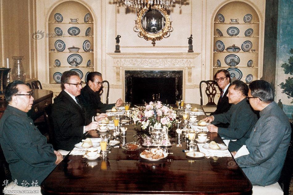 苏联历届领导人_中国历届领导人访美珍贵瞬间 - 图说历史|国内 - 华声论坛