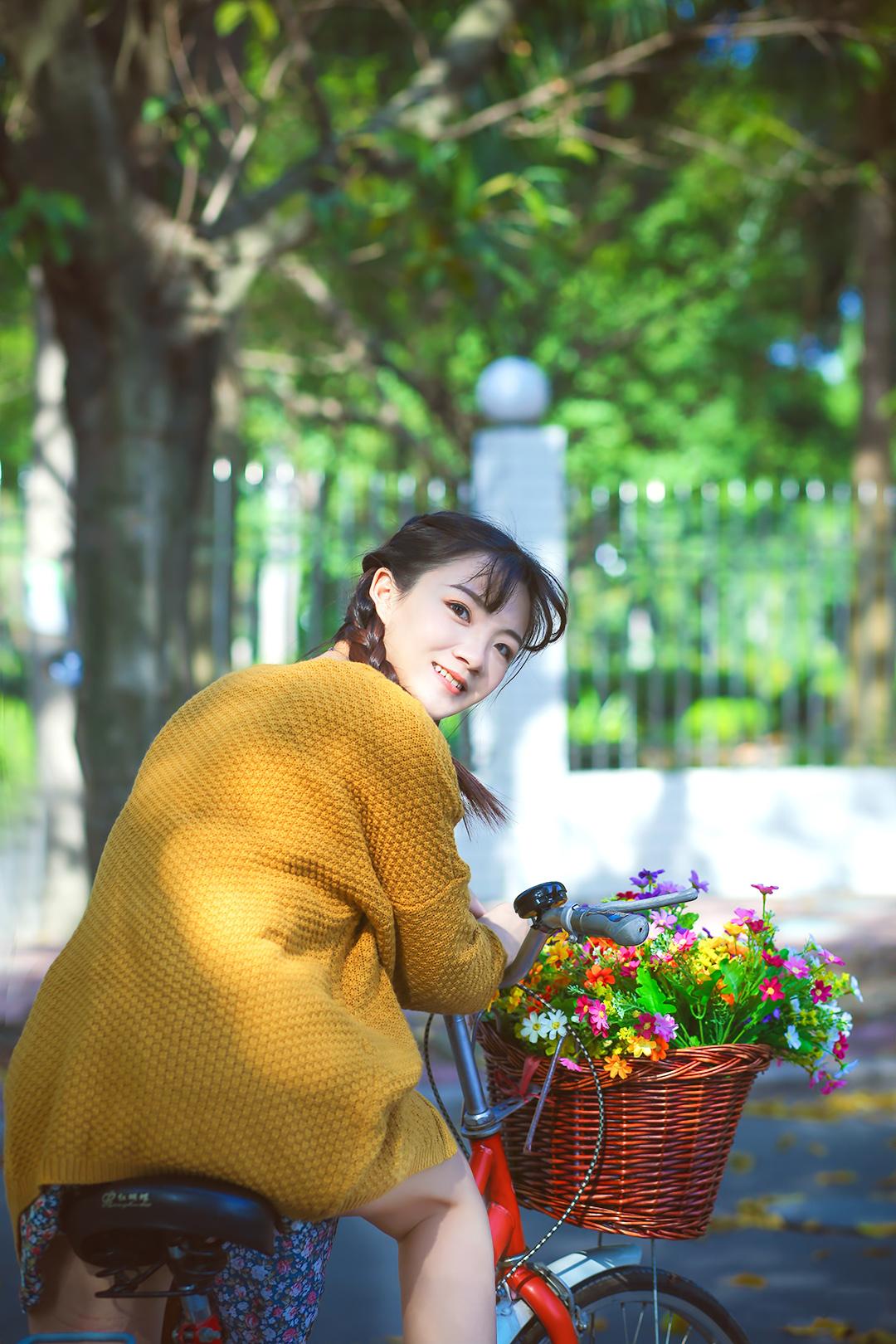【现代时尚素材篇】单车美少女 - 浪漫人生 - .