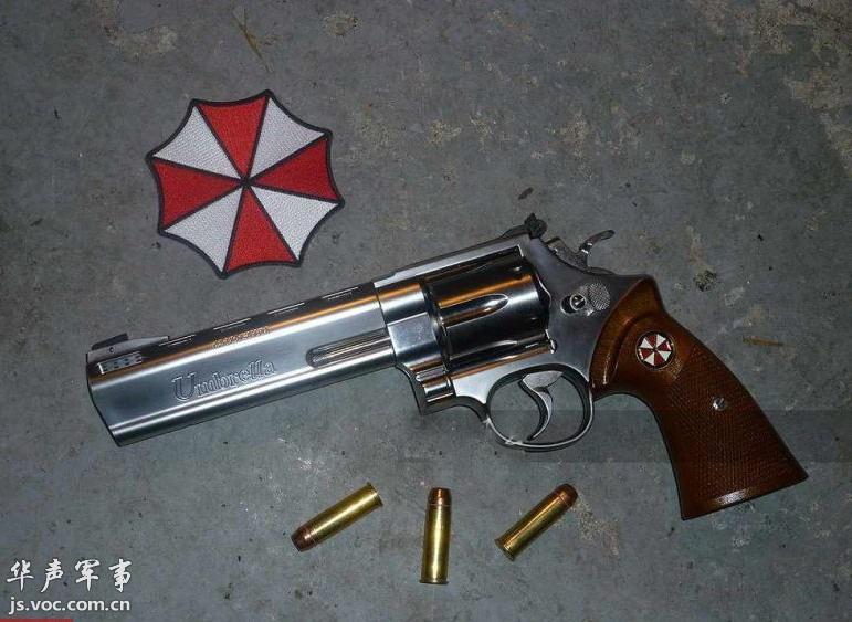 经典左轮手枪图片