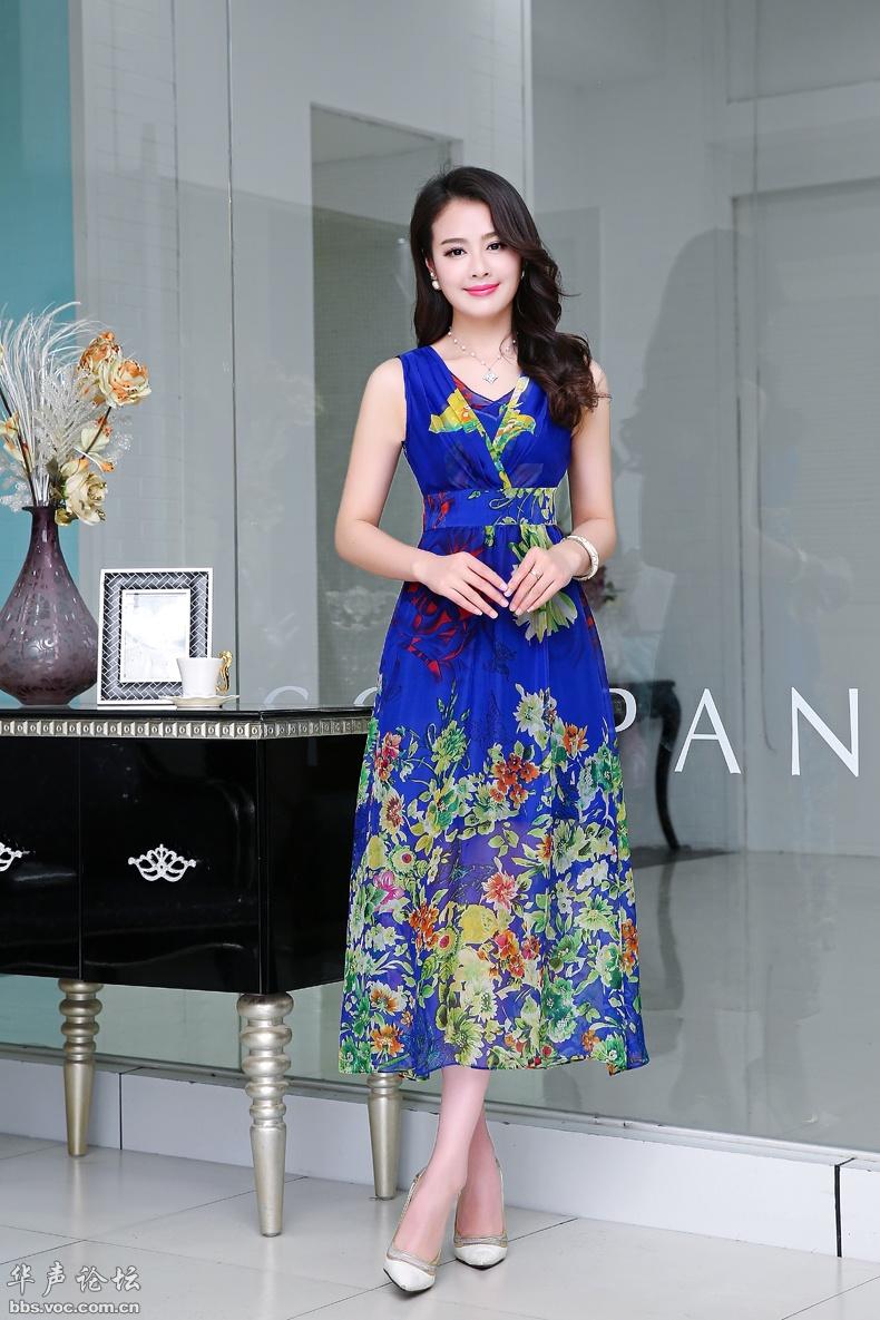 气质美女  时尚长裙 - 花開有聲 - 花開有聲