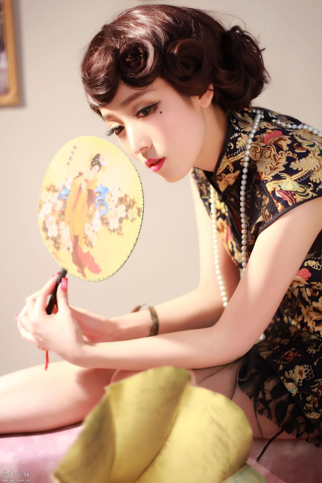古装美女  唯美旗袍 - 花開有聲 - 花開有聲
