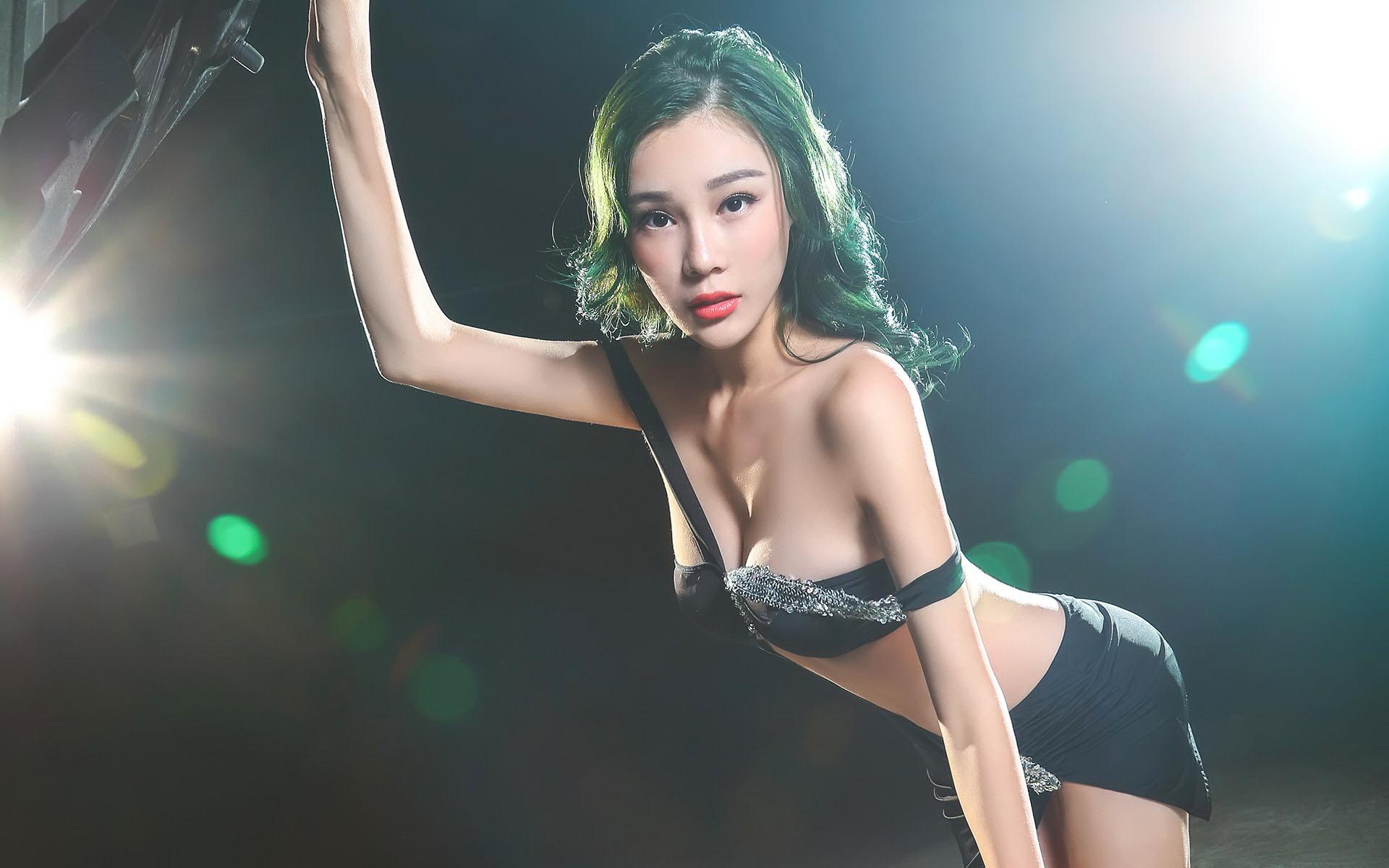亚洲美女壁纸选 - 花開有聲 - 花開有聲