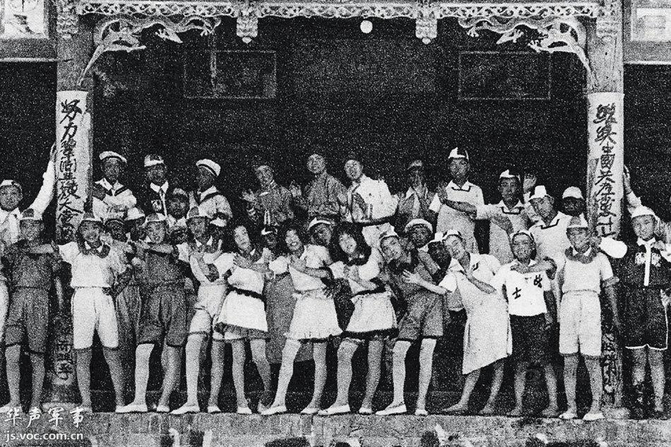 首次披露 中共早期领导人拍摄的罕见抗战照片图片