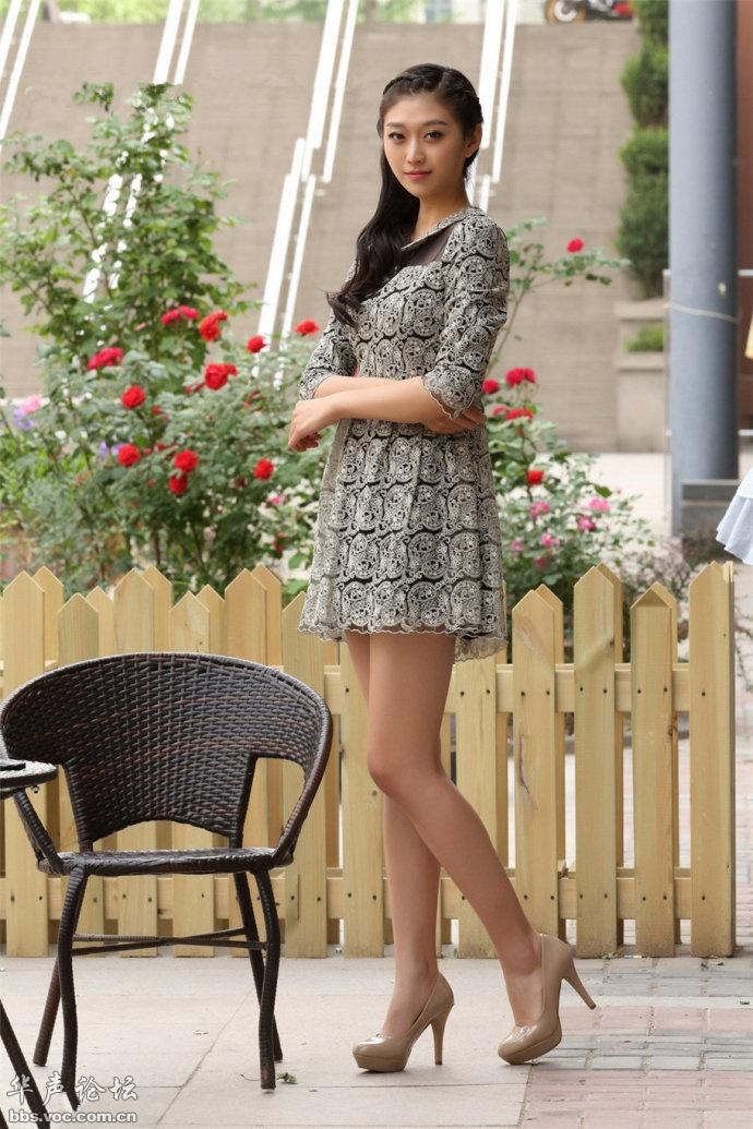 清秀女孩  连衣短裙 - 花開有聲 - 花開有聲