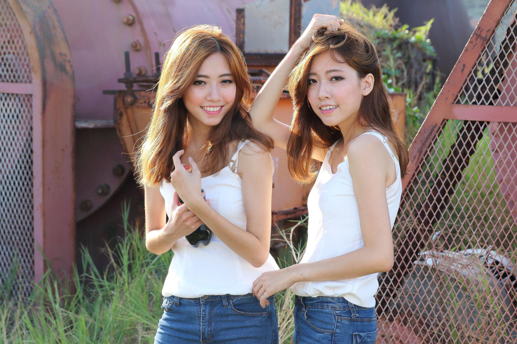 双生姐妹 大小乔 - 青梅酒女 - 青梅酒女的博客