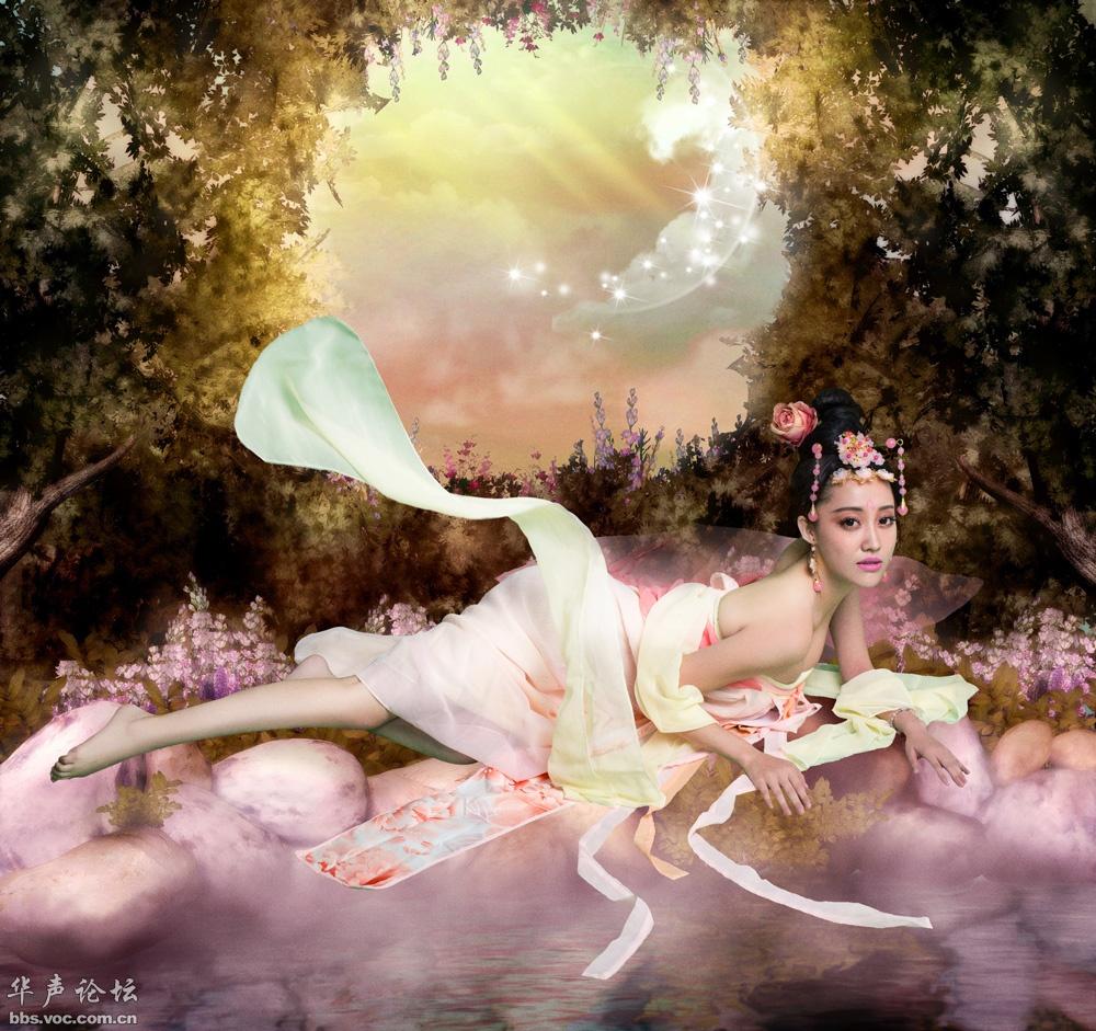 古典美女  气质写真b - 花開有聲 - 花開有聲